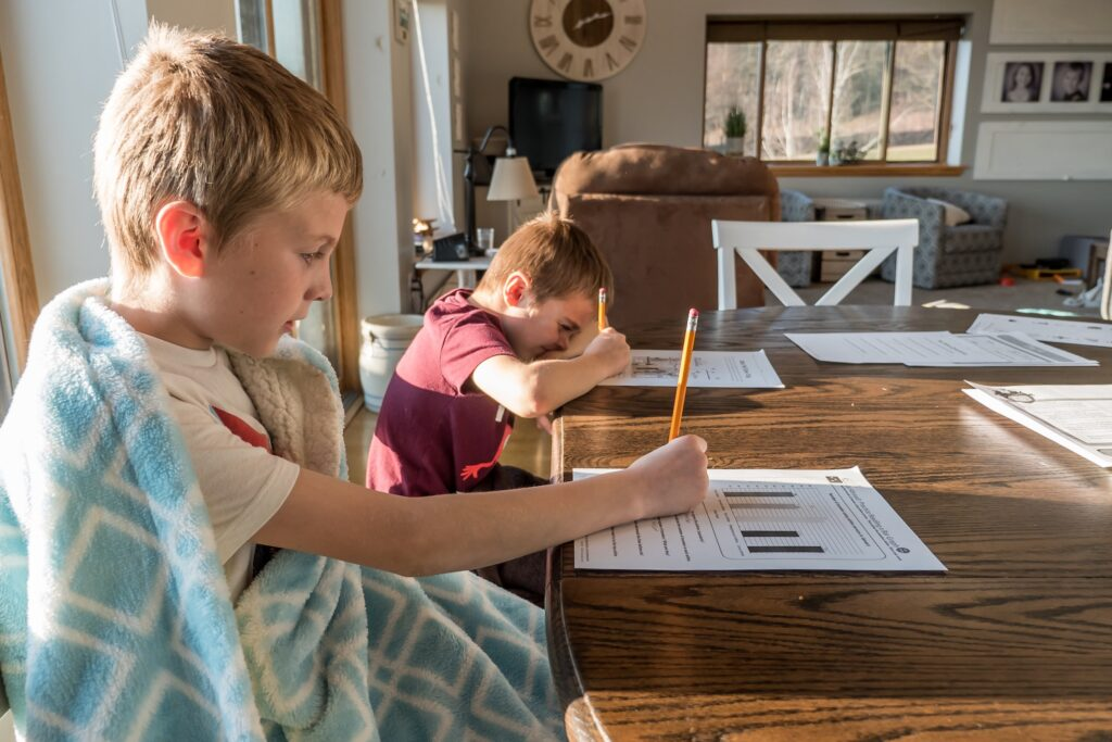 homeschool learning at home