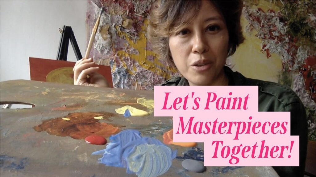 Virtual learning course on painting