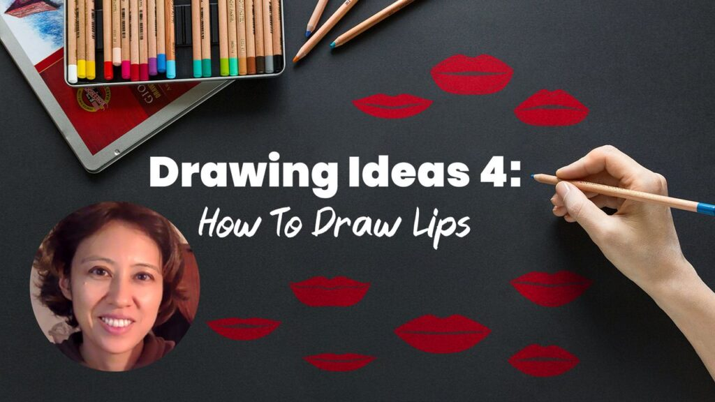 Lips Drawing Course